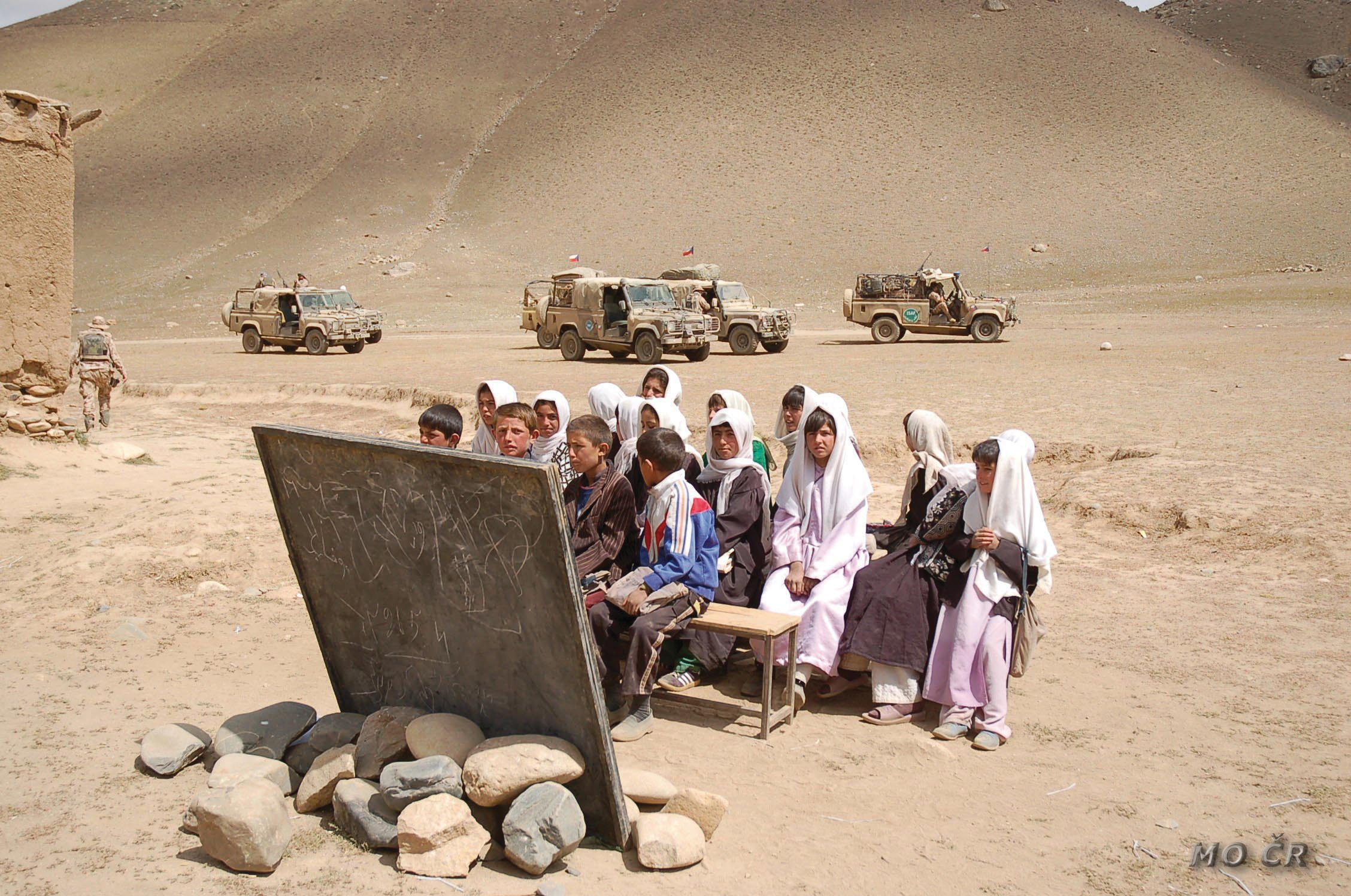 Mezinárodní bezpečnostní a podpůrné síly Afganistan /Adolf Novotný/