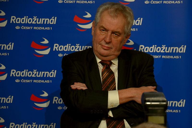 Český prezident vyzýva na spoločný boj proti Islamskému štátu