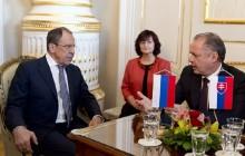 Návšteva ministra zahraničných vecí RF S.Lavrova v Bratislave