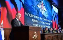 Rozšírené zasadnutie Kolégia ministerstva obrany Ruskej federácie
