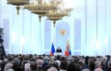 Prejav prezidenta Putina o stave Ruskej federácie