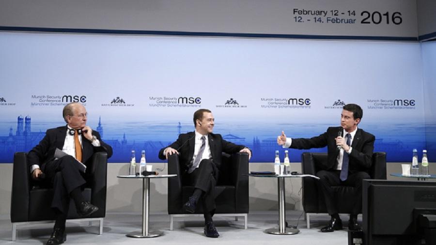 Vystúpenie D. Medvedeva na Mníchovskej bezpečnostnej konferencii