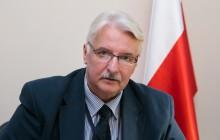 Rozhovor s ministrom zahraničných vecí Poľska Witoldom Waszczykowským