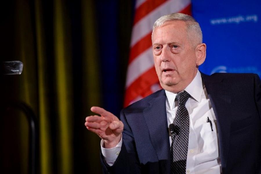 Rokovanie senátneho výboru pre ozbrojené sily o nominácii  Jamesa N. Mattisa na ministra obrany USA