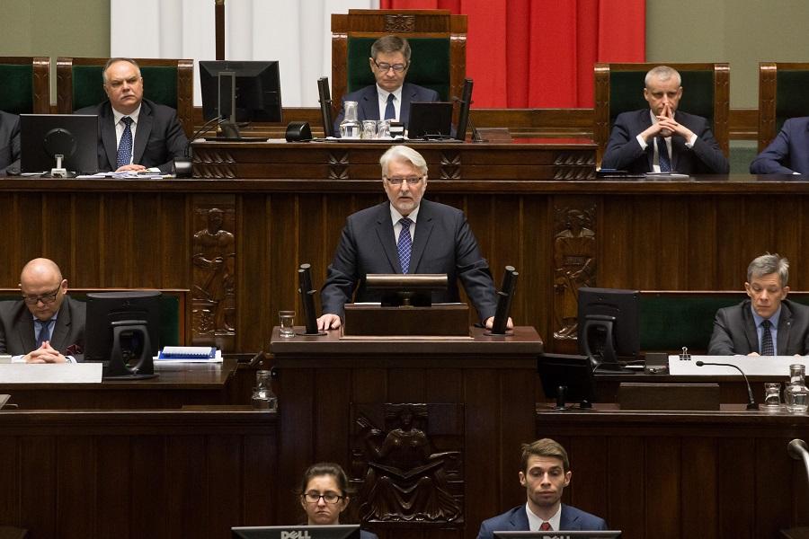 Príhovor ministra zahraničných vecí Poľska W. Waszczykowského o prioritách  zahraničnej politiky