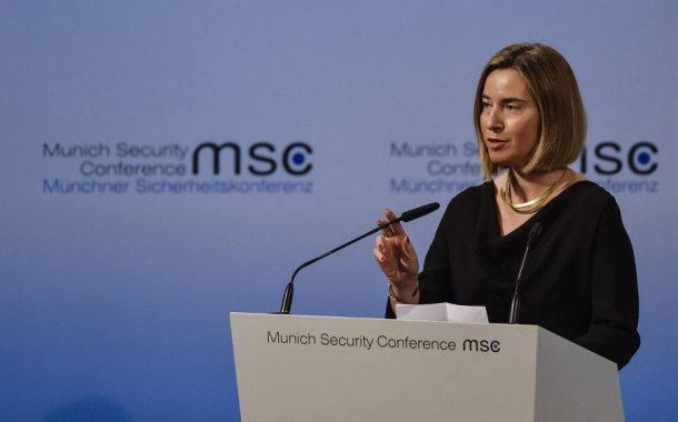 Vystúpenie F. Mogheriniovej na Mníchovskej bezpečnostnej konferencii
