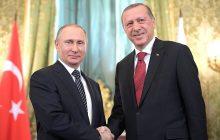 Spoločná tlačová konferencia Putin – Erdogan