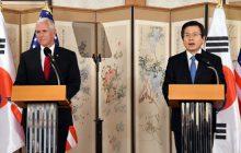 Spoločné tlačové vyhlásenie prezidenta Kórejskej republiky Hwanga a viceprezidenta USA Penceho