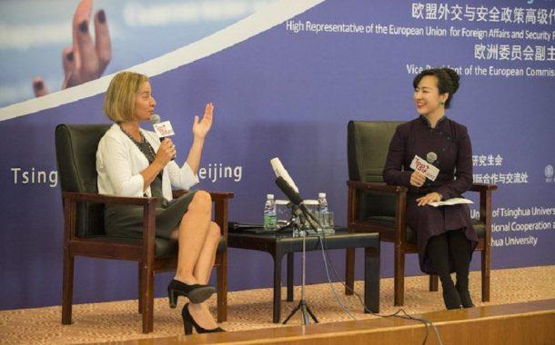 Prejav F. Mogherini na Tsinghua University v Číne /plné znenie/
