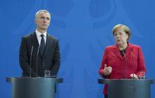 Spoločná tlačová konferencia J. Stoltenberga a A. Merkelovej