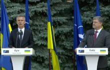 Návšteva generálneho tajomníka NATO J. Stoltenberga na Ukrajine