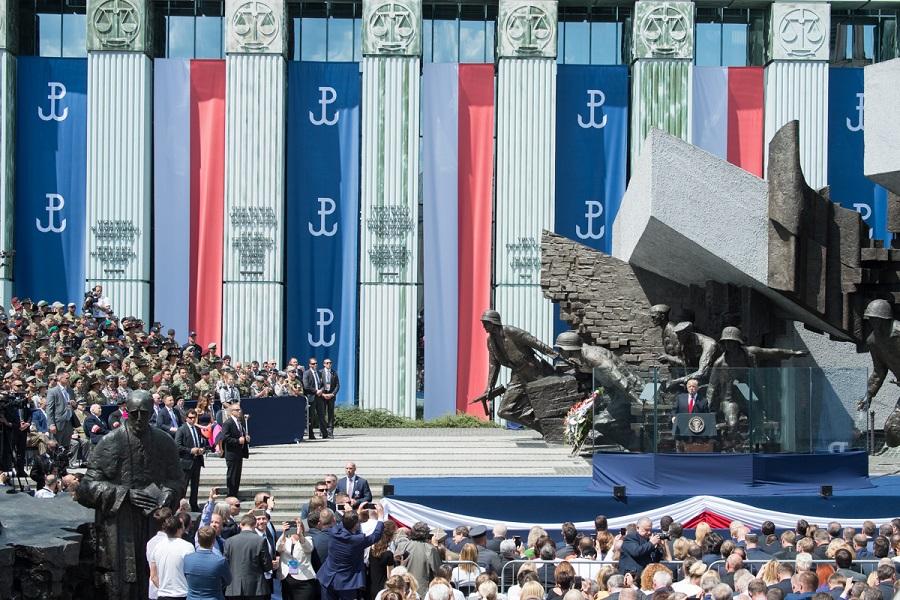 Prejav prezidenta USA D. Trumpa v Poľsku /plné znenie/