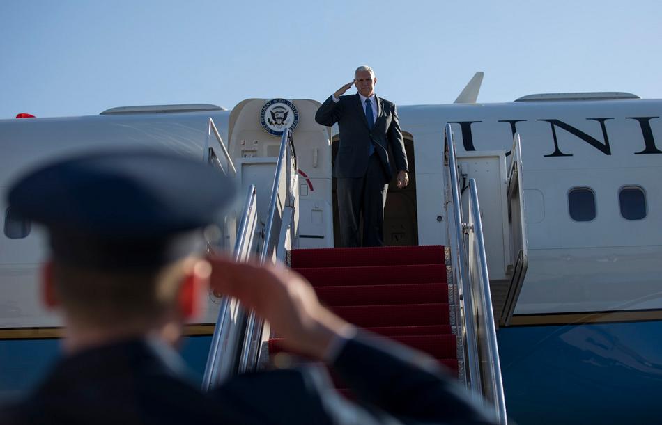 Vystúpenie viceprezidenta USA M. Penceho v Estónsku