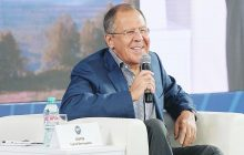 Vystúpenie ministra zahraničných vecí RF S. Lavrova na mládežníckom fóre