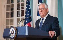 Tlačová konferencia ministra zahraničných vecí USA R. Tillersona o novej stratégii pre Afganistan