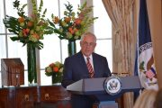 Rozhovor ministra zahraničných vecí USA R. Tillersona pre CBS