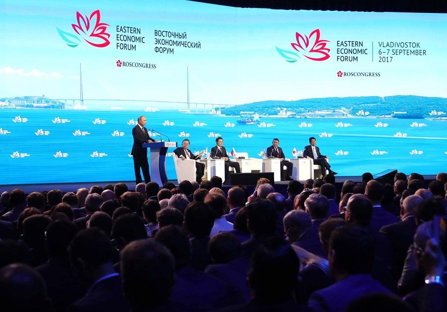 Vystúpenie V. Putina na Východnom ekonomickom fóre