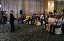 Tlačová konferencia V. Putina po summite BRICS