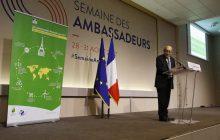 Vystúpenie ministra zahraničných vecí Francúzska M. Jean-Yves Le Driana o francúzskej zahraničnej politike