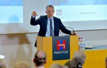 Otvorenie centra boja proti hybridným hrozbám vo Fínsku – vystúpenie J. Stoltenberga a F. Mogheriniovej