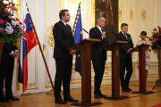 Vyhlásenie prezidenta, predsedu Národnej rady a predsedu vlády k EÚ a NATO