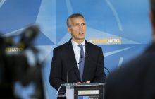 Tlačová konferencia GT NATO J. Stoltenberga po rokovaní Rady NATO – Rusko