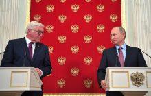 Vyhlásenia pre tlač po rokovaní prezidenta RF V. Putina s prezidentom NSR F. W. Steinmeierom