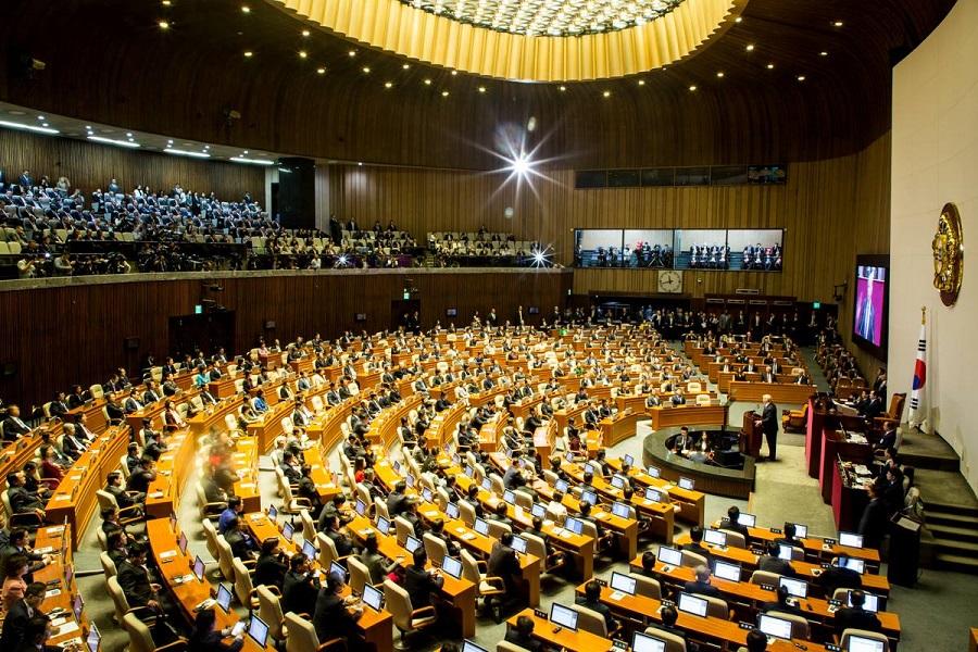 Prejav prezidenta USA D. Trumpa v parlamente Kórejskej republiky