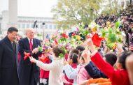 Návšteva prezidenta USA D. Trumpa v Číne