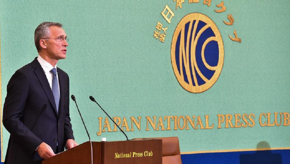 Prejav GT NATO J. Stoltenberga v Japonsku