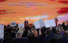 Veľká tlačová konferencia ruského prezidenta V. Putina /plné znenie/