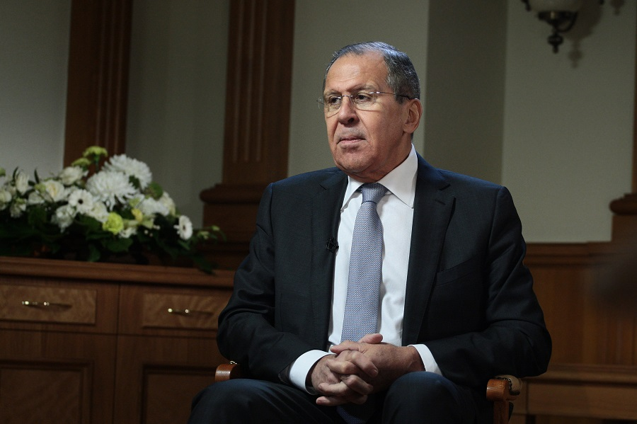 Rozhovor ministra zahraničných vecí RF S. Lavrova pre Russia Today