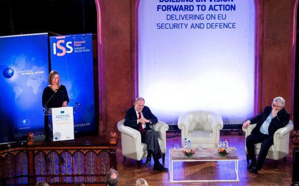 Prejav F. Mogheriniovej o bezpečnostnej a obrannej politike EÚ