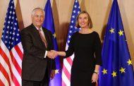 Spoločná tlačová konferencia F. Mogheriniovej a R. Tillersona