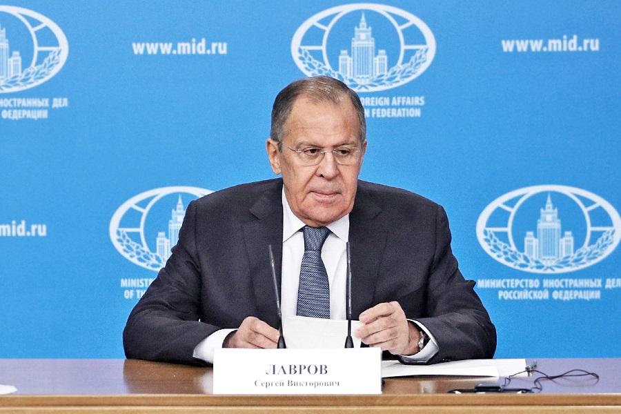 Tlačová konferencie ministra zahraničných vecí RF S. Lavrova /plné znenie/