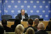 Tlačová konferencia ministra zahraničných vecí RF S. Lavrova v OSN /plné znenie/