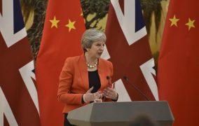 Prejav britskej premiérky T. Mayovej v Číne