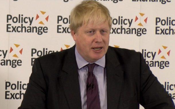Prejav britského ministra zahraničných vecí B. Johnsona o Brexite