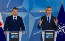 Spoločná tlačová konferencia predsedu vlády SR P. Pellegriniho a GT NATO J. Stoltenberga