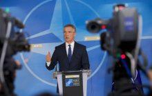 Tlačová konferencia GT NATO J. Stoltenberga po rokovaní Severoatlantickej rady o Sýrii