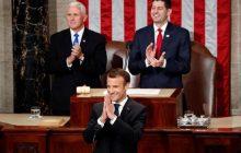 Prejav francúzskeho prezidenta E. Macrona v Kongrese USA