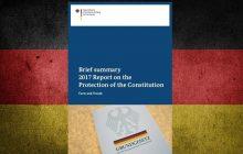 Výročná správa nemeckej kontrarozviedky za rok 2017