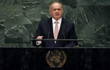 Prejav prezidenta SR A. Kisku v OSN
