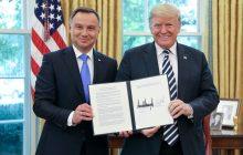 Rokovanie prezidenta USA D. Trumpa s prezidentom Poľska A. Dudom