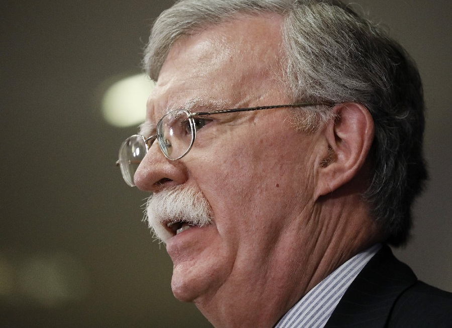 Prejav poradcu pre národnú bezpečnosť prezidenta USA J. Boltona pre americké sionistické organizácie