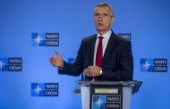 Tlačová konferencia J. Stoltenberga po rokovaní komisie NATO – Ukrajina