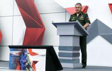 Správa o činnosti ministerstva obrany RF za rok 2018
