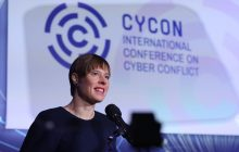 Prejav estónskej prezidentky Kersti Kaljulaid na konferencii o kybernetickej bezpečnosti