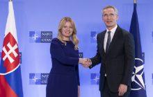 Spoločná tlačová konferencia GT NATO J. Stoltenberga  a prezidentky SR Z. Čaputovej
