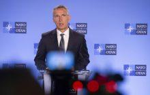 Tlačová konferencia GT NATO J. Stoltenberga k problematike Zmluvy o likvidácii rakiet stredného a krátkeho doletu